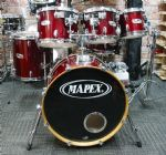 MAPEX M BIRCH  6-PIECE FUSION KIT TRANSPARENT CHERRY